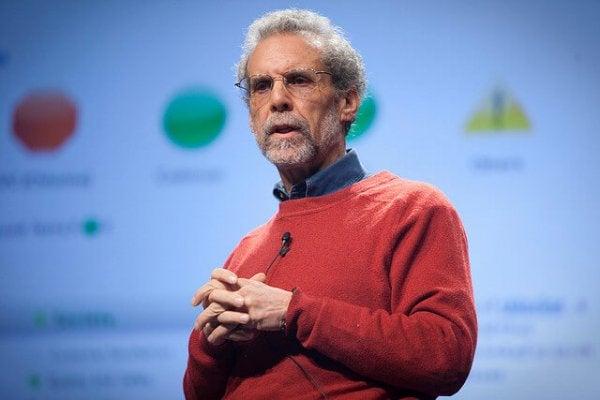Daniel Goleman die praat over emotionele intelligentie