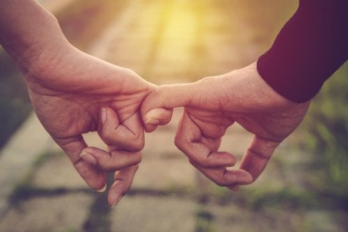 Ik hou van je, en niet vanuit aanhankelijkheid, gewoonte of angst voor eenzaamheid