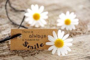 Er is altijd een reden om te lachen want humor maakt gelukkig
