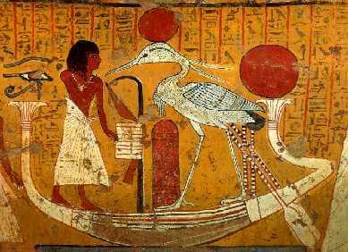 Egyptische tekening over onze fantastische veerkracht