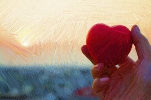 Als je verdrietig bent, houd dan vast aan je hart