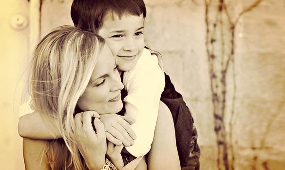 Mijn zoon is zorgzaam, gevoelig en liefdevol...
