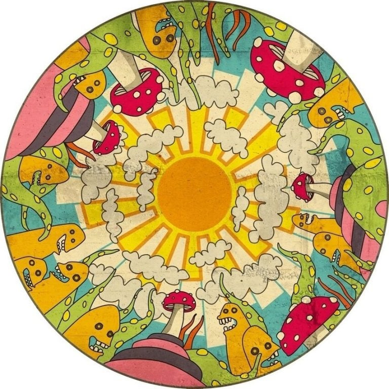 Mandala's inkleuren helpt om emotioneel sterke kinderen op te voeden