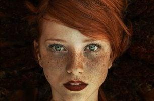 Meisje met een INFJ-persoonlijkheid