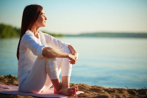 Beginnen met mediteren door te genieten van de natuur