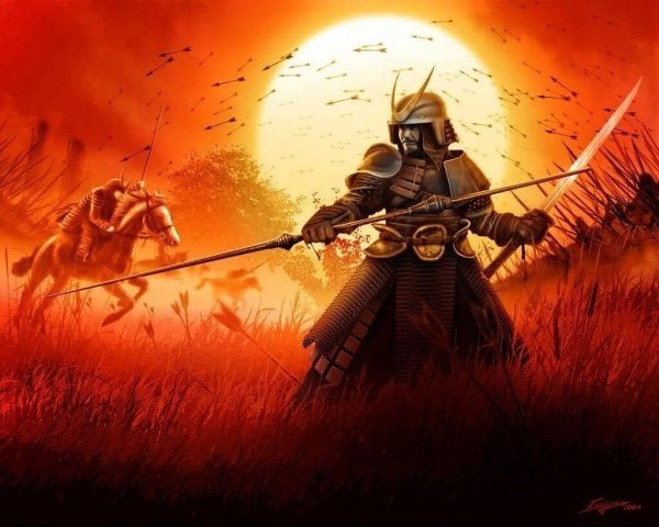 Samurai krijgers vinden hun ikigai