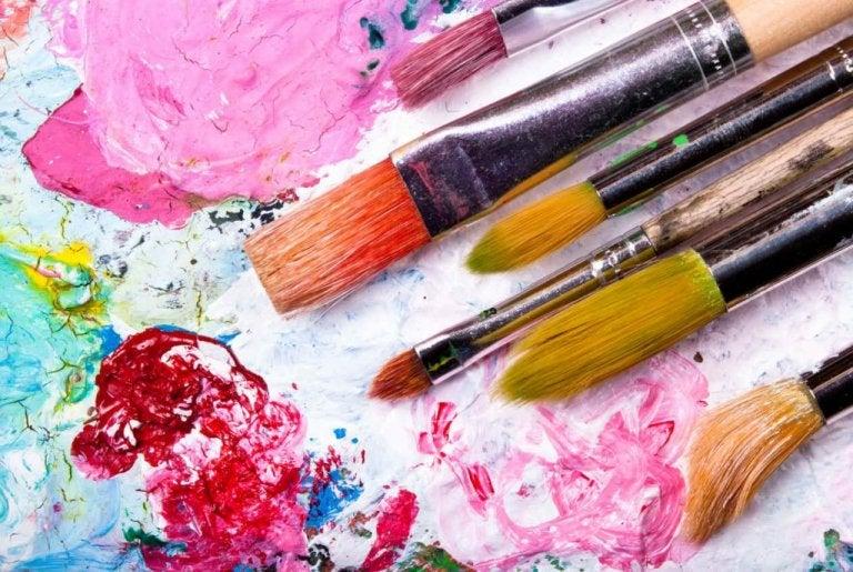 Je geest trainen door te schilderen