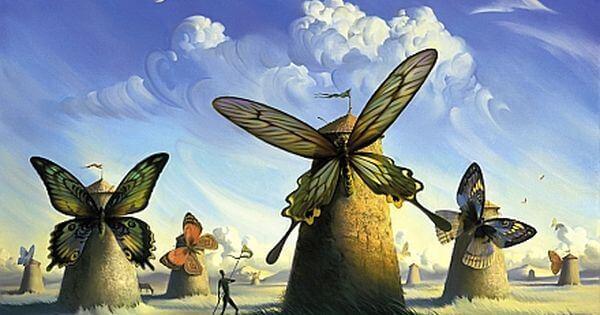 Wat de rups het einde noemt, noemt de wereld een vlinder
