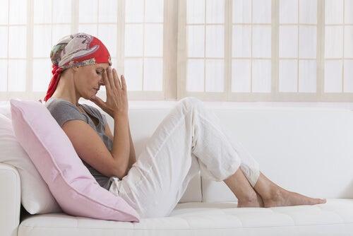 Vrouw met kanker voor wie het allemaal te veel wordt