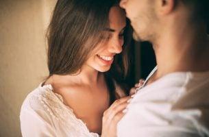 Seksuele aantrekkingskracht tussen een vrouw en haar partner