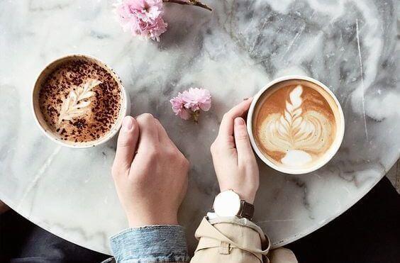 Twee koppen koffie