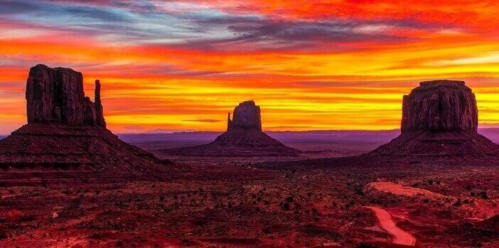 Het Navajo reservaat