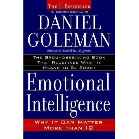 Een van de boeken over emotionele intelligentie