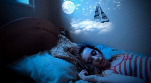 Praten in je slaap of somniloquy