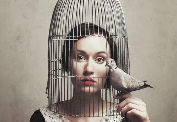 Vrouw die weet: je moet je gevoelens leren erkennen