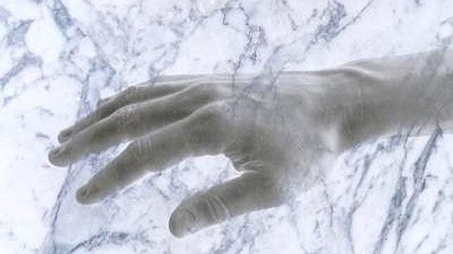 Marmeren hand