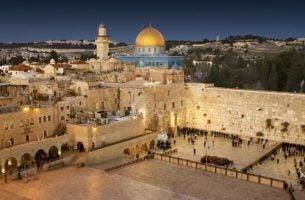 Muur van Jerusalem omdat het gaat over het Jeruzalemsyndroom