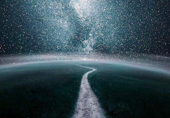 Nacht vol sterren