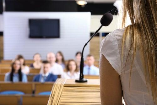 Overwin je angst om te spreken in het openbaar