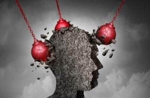 De vernietigende gedachten die gepaard gaan met depressie