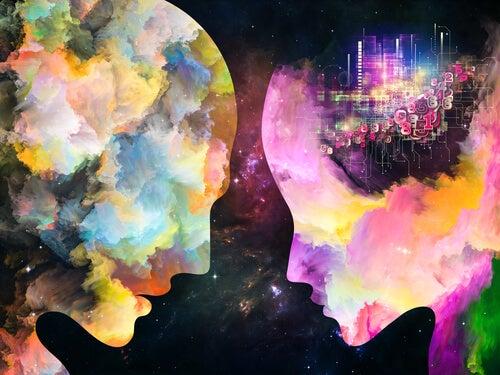 Twee kleurrijke geesten: bewustwording