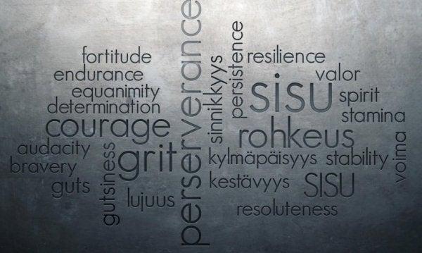 Volharding in meerdere talen