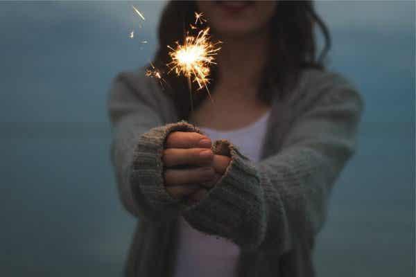 Innerlijk geluk komt voort uit beweging