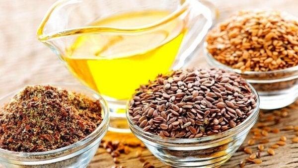 Zaden die veel omega 3-vetzuren bevatten