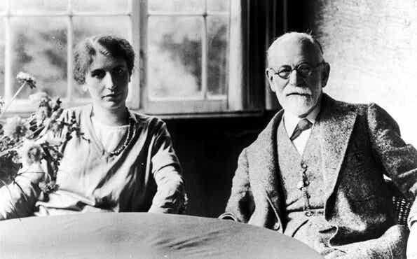 Anna Freud en hoe ze in haar werk Sigmund Freud volgde
