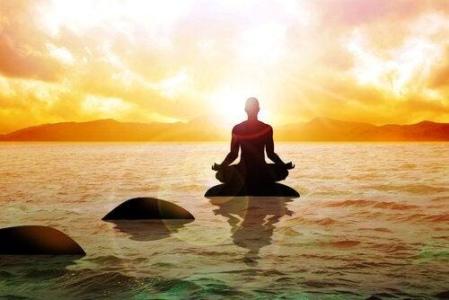 Stoppen met lijden door te mediteren