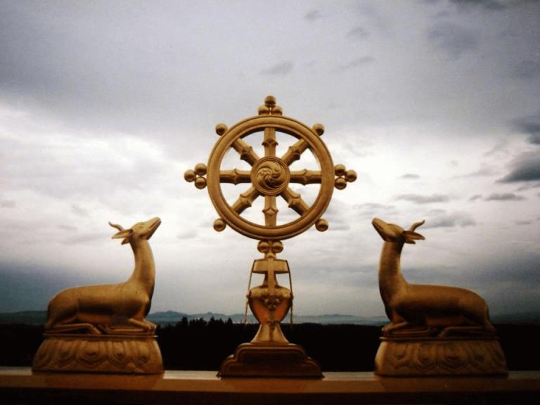 Religieus standbeeld