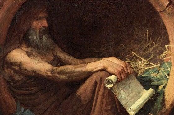 Diogenes van Sinope en cynisme