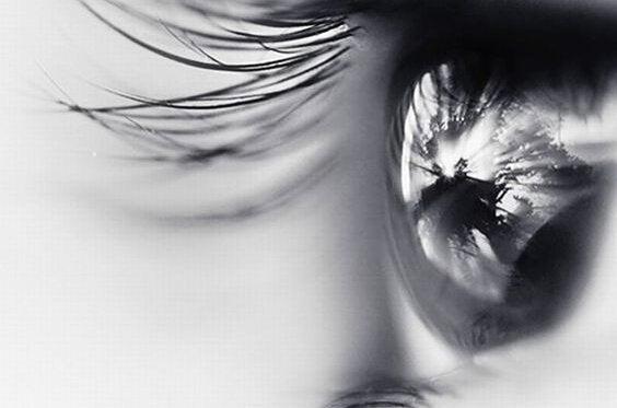 De dood in de ogen van een vrouw