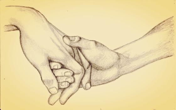 Twee mensen geven elkaar een hand uit vriendelijkheid