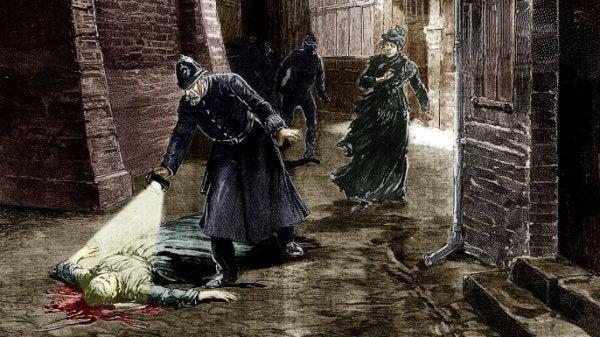 Scene waarin iemand is vermoord