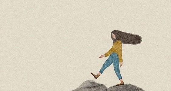 Meisje dat weet: jezelf op de eerste plaats zetten is gezond