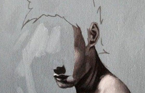 Man met half gezicht wordt beperkt in zijn wensen en verlangens