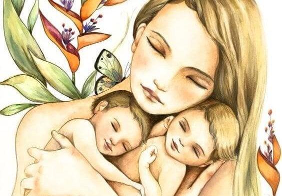 Het moederschap schudt de ziel door elkaar