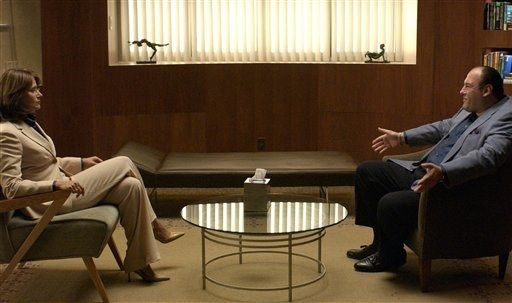 Afbeelding uit de Sopranos