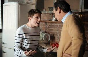 Scene uit een film als voorbeeld van opstandige tieners