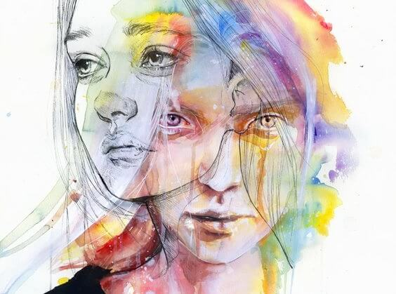 Twee gezichten