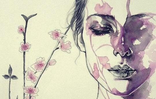 Krachtige vrouw die weigert te zwijgen