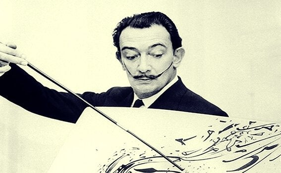 Schilderij van Salvador Dali