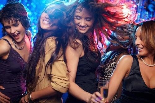 Dansende vrienden