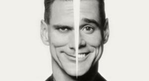 Jim Carrey met gespleten persoonlijkheid