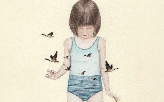 Je zelfvertrouwen geeft je vrijheid die vogels hebben