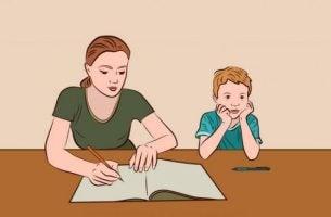 Je kind helpen met zijn huiswerk