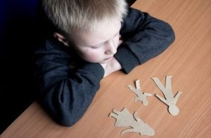Kind dat slachtoffer is van ouderverstoting