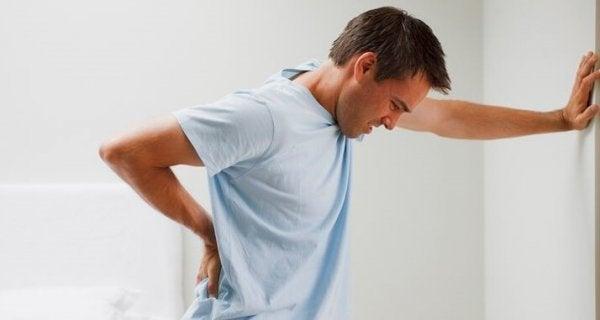 Man met chronische vermoeidheid