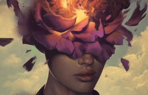 Die stem in je hoofd die zich ontvouwt als een grote bloem vol energie